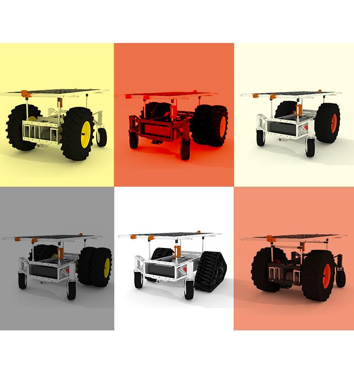 LCR Autonomous Solar Electric Tractor Pictures